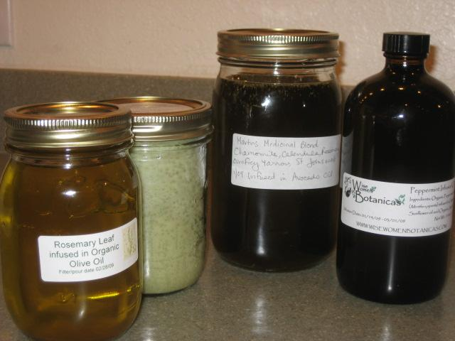 Variety of Oil Infusions